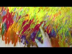What a spectacular painting by finger painter Iris Scott - YouTube