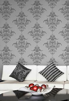 Pinta y decora tus paredes con plantillas!