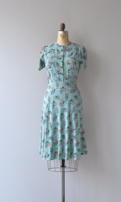 A Certain Homecoming dress 1930s dress vintage 30s by DearGolden