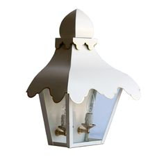 The Tole Tent Lantern Sconce - Coleen and Company