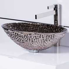 Glass Vessel Sinks, Pedestal Sink, Undermount Bathroom Sink, Bathroom Sinks, Bathrooms, How To Install Countertops, Wall Mounted Sink, Fish Shapes, Bath