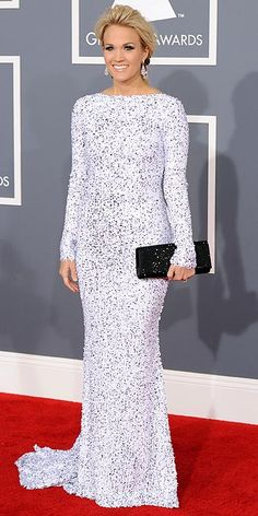 2012 Grammy Awards - Carrie Underwood this dress is gorgeous!