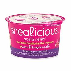 Shealicious Scalp Relief Shea Butter Conditioning Hair Cocktail 2.5 oz
