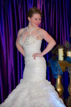 Dress from Doria's.  Photo by Firstlight Photography. http://www.weddingandeventmagazine.com/vendors/details.php?resourceid=637