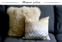 I must have this Missoni pillow