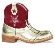 Bronzen/Gouden Zecchino D'oro kinderschoenen 4815 boots