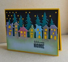 F4A218 welcome home by tessaduck -FS433 Cards and Paper Crafts at Splitcoaststampers