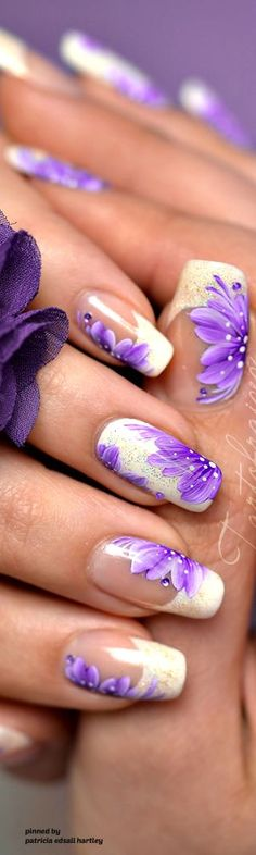 Ideas Purple French Pedicure Acrylic Nails For 2019 French Nails, Ongles Gel French, French Manicure Toes, Purple Manicure, French Pedicure, French Manicure Designs, Manicure Y Pedicure, Nails Design, Purple Toe Nails