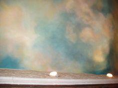 ceiling murals twilight sky | Custom Murals