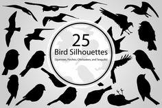 25 Bird Silhouettes