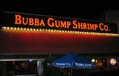 Bubba Gump Shrimp #bubbagumpshrimp #internationaldrive #orlando #citywalk