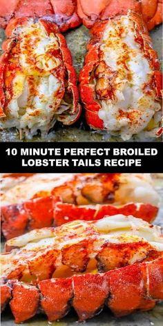 - Food And Drink SU 7 - tattoo ideas Lobster Tail Oven, Easy Lobster Tail Recipe, Baked Lobster Tails, Broiled Lobster Tails Recipe, Grilled Lobster, Recipe For Cooking Lobster Tails, Frozen Lobster Tails, Lobster Fest, Garlic Recipes