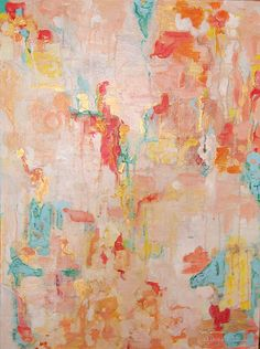 Abstract painting by Whitney Reynolds Orr
