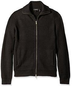 THEORY Ronzons Merino Wool Zip Cardigan Sweater. #theory #cloth ...