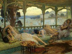 Late Afternoon, Algiers Frederick Arthur Bridgman (1847 – 1928)