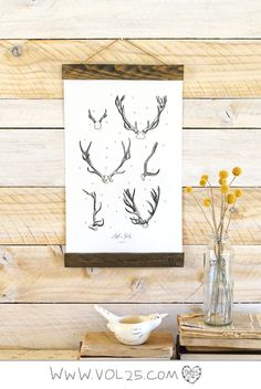 MINI // Vintage Inspired Science Posters - ANTLER STUDY Vol.2