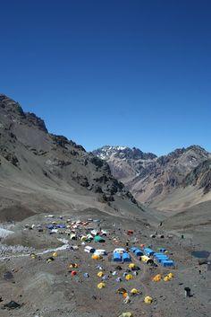 Base Camp on Aconcagua