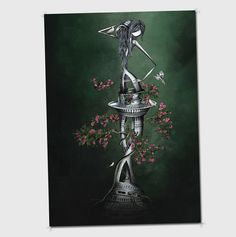 Le verseaul  illustration format 21x30cm ou par sibylledodinot