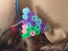 Earrings I made for my American Girl Doll
