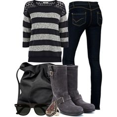 """""""Running Errands Outfit"""" by lexis2584 on Polyvore"""