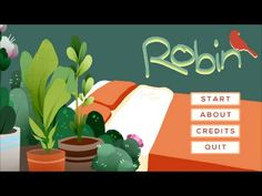 """""""Robin"""" by 2nd year game design students (chronic fatigue syndrome)"""