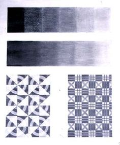 Drawing Exercise 2: Create a pattern with value (Day 4-Value; Day 5-Pattern; Day 6-Add value)