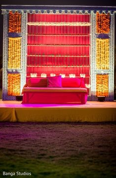 Pre-Wedding Decor http://www.maharaniweddings.com/gallery/photo/72059 @bangastudios