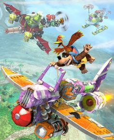 banjo kazooie nuts and bolts - Google Search