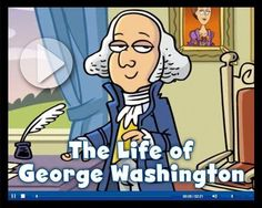 A quick animated video that explains the life of George Washington. Great for President's day activities. Explain the significance of our national holidays and the heroism and achievements of the people associated with them. Kindergarten Social Studies, 5th Grade Social Studies, Social Studies Activities, Teaching Social Studies, In Kindergarten, Fun Activities, Holiday Activities, Teaching Career, Teaching History
