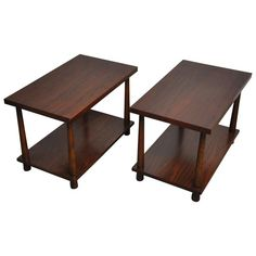 T.H. Robsjohn-Gibbings Side Tables | From a unique collection of antique and modern end tables at https://www.1stdibs.com/furniture/tables/end-tables/