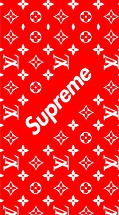 1134x2048 Supreme x Louis Vuitton Hype Wallpaper, Black Wallpaper, Cool Wallpaper, Pattern Wallpaper