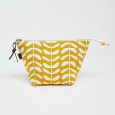 Handmade Organic Cotton Make up bag, Mother's Day, Free P&P £19.50