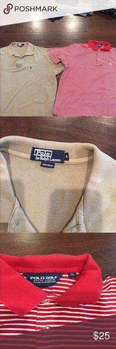 2 men's polo shirts Both XL polo shirts for men. Good condition Shirts Polos