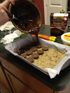 Reese's Brownie Bars- made these tonight!!    Katherine in the Kitchen: Quick, Easy, Healthy Recipes
