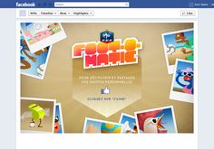 Application Facebook - Foot-o-matic