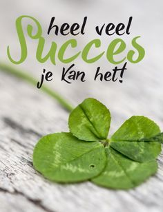 Heel veel SUCCES je kant het! | kaart BloomPost Words Quotes, Love Quotes, Sayings, Facebook Quotes, Dutch Quotes, Just Be You, Powerful Quotes, Good Luck, Do You Remember