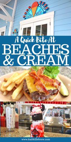 Disney Eats: Beaches