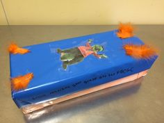A shoebox by Madison (2nd grade)