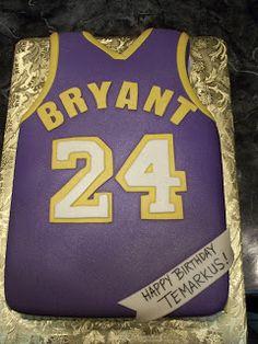MyMoniCakes: Lakers Kobe Bryant Jersey Cake - Beauty is Art Birthday Cake For Him, 24th Birthday, Birthday Ideas, Birthday Recipes, Black Mamba, Birthday Gifts For Boyfriend, Boyfriend Gifts, Kobe Bryant Birthday, Kobe Bryant Tattoos