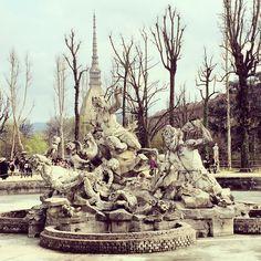 Riaprono i Giardini Reali dopo 20 anni di attesa  Qui passeggiava il Re...  E a Torino è subito festa! #torino #giardinireali #pasquetta #mybornplace #turin #natasciapane
