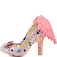 Irregular Choice Tabbris Women's Pink High Heel