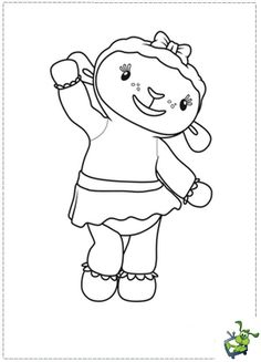 Doc mcstuffins friends free printable coloring pages for Disegni da stampare dottoressa peluche
