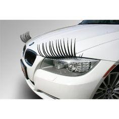 CARLASHES Classic Black Car Headlight Eyelashes Automotive Accessory for sale online Eyelashes For Cars, False Eyelashes, Long Lashes, Just In Case, Just For You, Design3000, Passat B6, Pt Cruiser, Car Headlights
