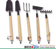 garden tools -  @Corner Bakery Cafe