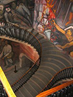 Morelia, Mexico - Government Building With Murals