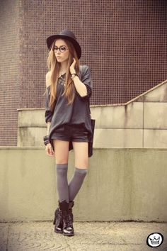 I like the top half, don't necessarily care for the socks and shoes.
