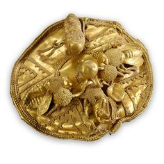 Gold Bees from Eastern Greece, 7thc BC, Nasher Duke Museum, NC  