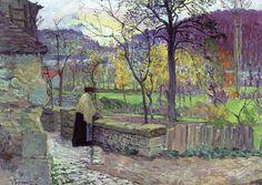 Henri Labasque, The Garden at Champigne, 1894