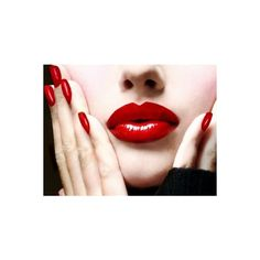Choosing The Best Red Lipstick ❤ liked on Polyvore featuring beauty products, makeup, lip makeup and lipstick