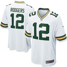 Green Bay Packers Road Game Jersey - Aaron Rodgers - Youth: Green Bay Packers Road Game Jersey - Aaron Rodgers - Youth